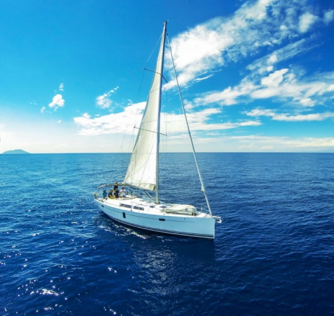 White Tenerife Sea Charter